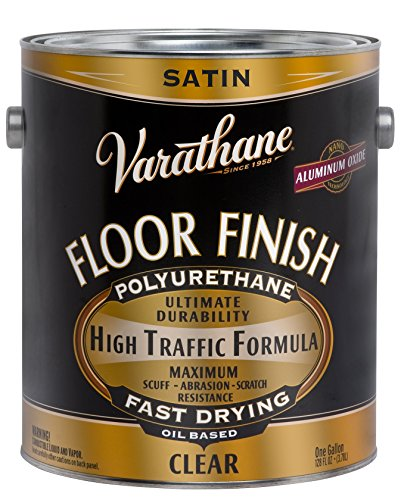 RUST-OLEUM 130231 Clear Satin Floor Finish ()