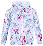 #1: Jingle Bongala Girls Lightweight Jacket Hooded Windbreaker Cartoon Coat Outwear