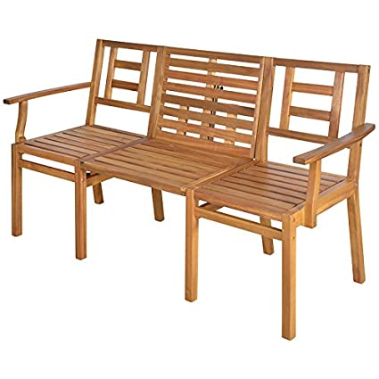 Surprising Amazon Com Esschert Design Bl055 Convertible Wooden Bench Creativecarmelina Interior Chair Design Creativecarmelinacom