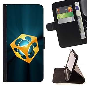 For Sony Xperia M4 Aqua Case , abstracto- la tarjeta de Crédito Slots PU Funda de cuero Monedero caso cubierta de piel