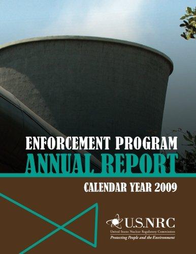 Enforcement Program Annual Report: Calendar Year 2009