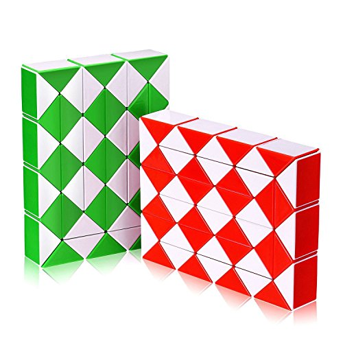 Price comparison product image Snake Speed Cube,  Puzzle Fidget Cube Toy Twisty Puzzle Twist Magic Ruler Cube Gifts