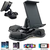 """Universal GPS Smartphone & Tablet Beanbag Dash Dashboard Friction Mount Holder for all Smartphone iPhone X 8 7 Plus XR XS MAX Galaxy S9 Note & 7""""-8"""" Screen size tablets (iPad Mini Galaxy Tab E A 7 8)"""