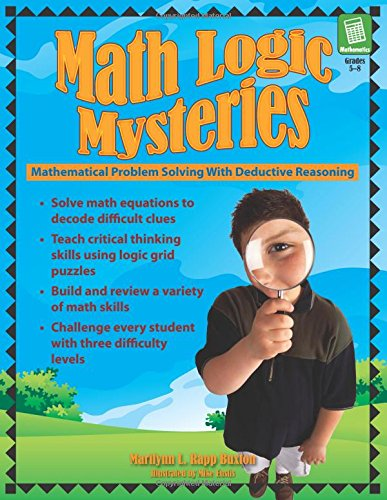Amazon.com: Math Logic Mysteries (9781593632199): Marilynn Rapp ...