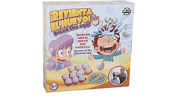 XTURNOS Revienta el Huevo: Amazon.es: Juguetes y juegos
