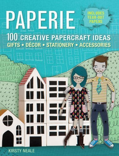 Paperie: 100 Creative Papercraft Ideas for Gifts, Decor, Stationery, and Accessories by Neale, Kirsty (2014) Paperback