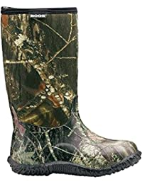 Kids Classic No Handles High Mossy Oak Winter Snow Boot, , 6 M US Big Kid