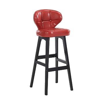 de et bar bois pieds Tabouret en cuir chaise de Repose 8OPZXNnw0k