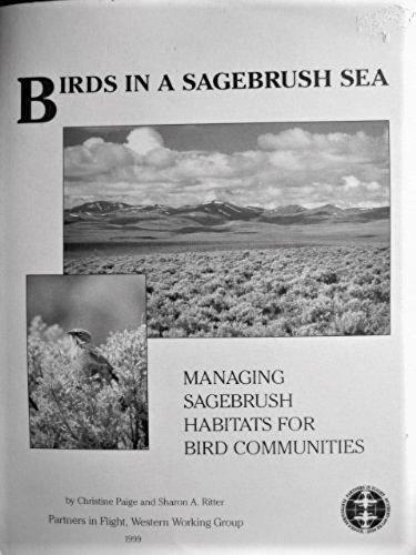 Birds in a sagebrush sea: Managing sagebrush habitats for bird communities