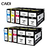 Ink Choice Canon PGI-1200 XL BK/C/M/Y Compatible Pigment Ink Tank HY Replacement for Canon MAXIFY MB2320, MB2020 inkjet printer (10-Pack PGI-1200XL 4 Black, 2 Cyan, 2 Yellow, 2 Magenta)
