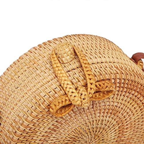 Le Disponibili Chic Donne Miglior Spalla Regalo Intrecciata A Pelle Borsa Naturale Balai Modello Con 2 Modelli In Per Cinturini Rattan Mano 4 CwqSH4Z