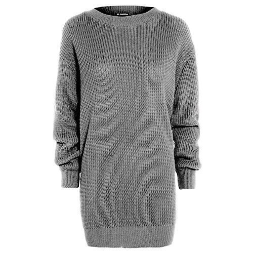 Be Jealous Damen Jumper Kleid Royal Blue - Stretchy Winter Casual Jumper S/M  (34 /10): Amazon.de: Bekleidung