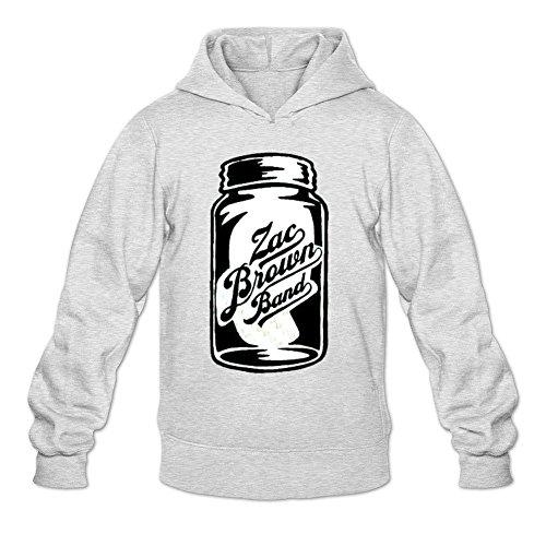 Tommery Men's Zac Brown Long Sleeve Sweatshirts Hoodie