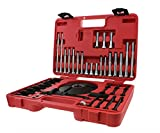 ABN Universal Harmonic Balancer Puller & Installer 52-Piece Tool Kit – Master Balancer & Pulley Removal/Installation Set
