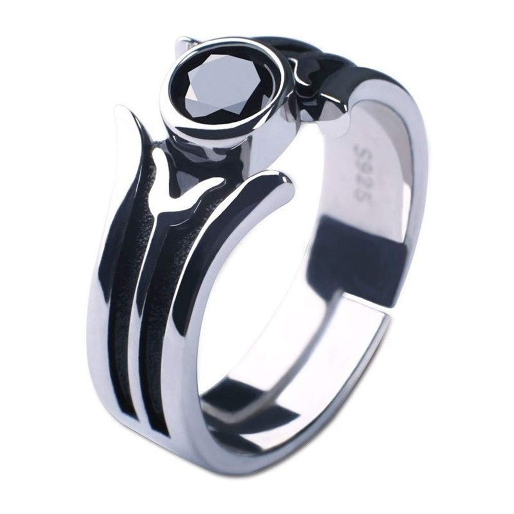 Amazon Anime Sword Art Online Kirito Cosplay Kirigaya Kazuto Sao 925 Silver Ring Adjustable Props New Us Size 7 8 9 Jewelry: Sword Art Online Wedding Ring At Websimilar.org