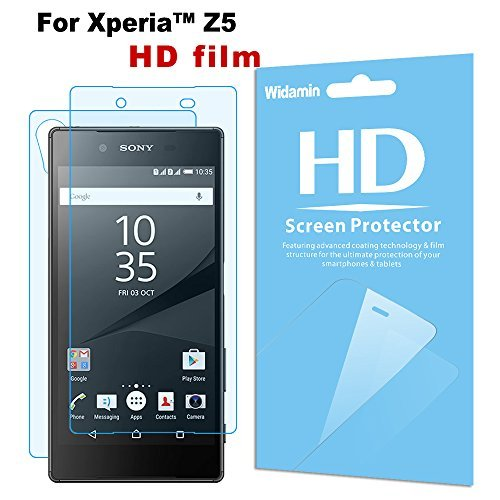 2 opinioni per iphone/6s iphone 6 [Widamin] Ultra sottile, placcatura Clear Film 6Pack, Xperia