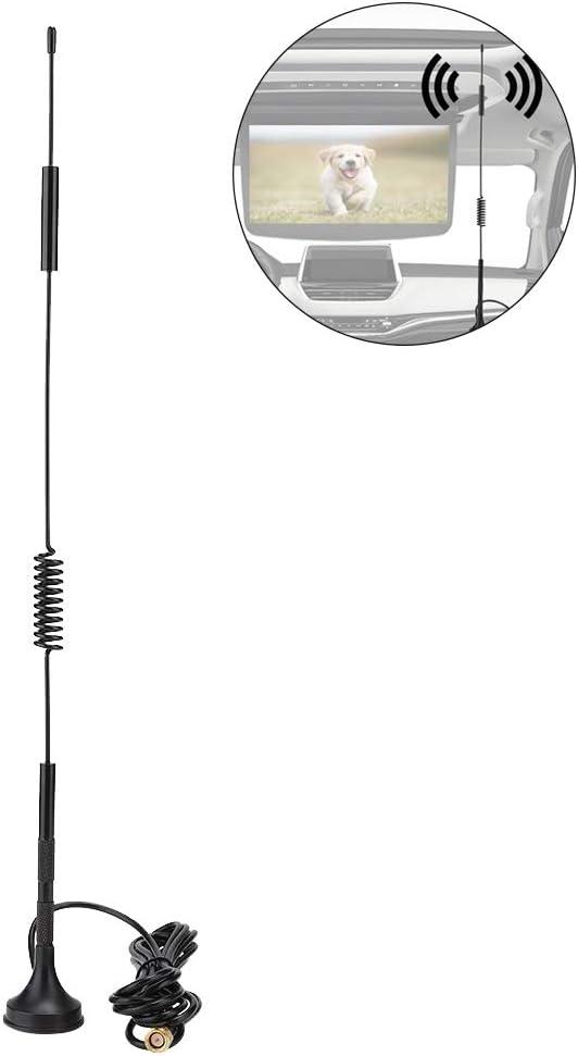 Oumij Antena Exterior - Antena de Succión Magnética - 700-2700MHz 36cm - con 18dBi de Alta Ganancia 4G / 3G / gsm LTE (3 Metros, 5 Metros. 10 ...