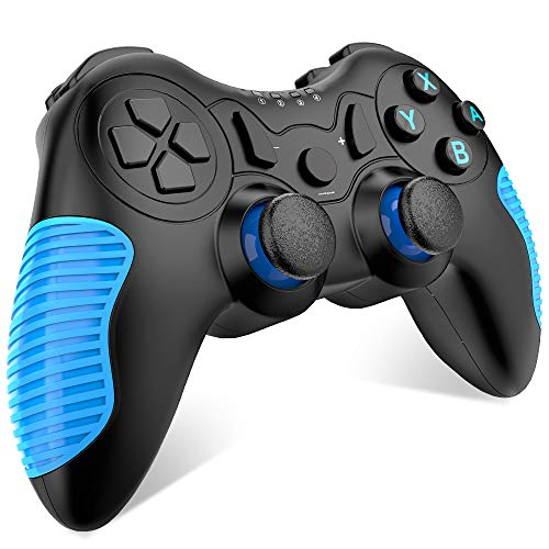 - EALNK Wireless Controller for Nintendo Switch Remote Pro Controller Compatible for Nintendo Switch Console (Blue)