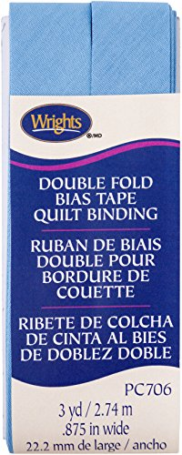(Wrights Delft Double Fold Quilt Binding 7/8