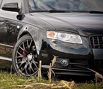 OriginalEuro Headlight Cover Euro Hood Trim Grill Spoiler Eyelid Eyebrow for Audi A4 S4 RS4 B7 S