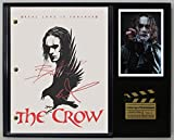 #4: THE CROW LTD EDITION REPRODUCTION SIGNED CINEMA SCRIPT DISPLAY