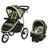 Graco Fast Action Fold Click Connect Jogger Travel System with Snug Ride 35