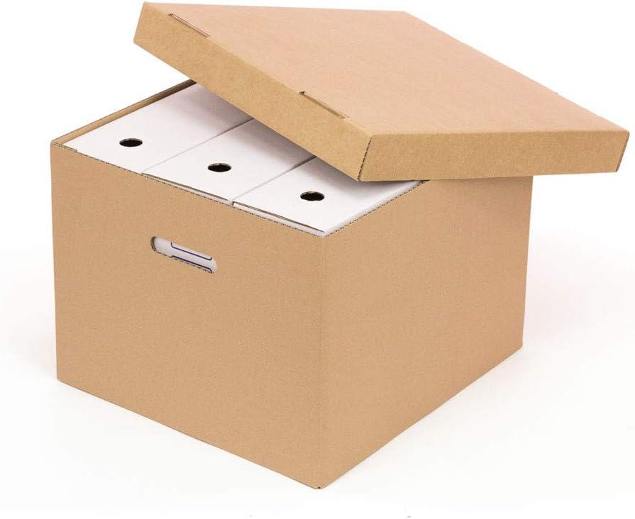 Kartox | Caja de cartón |Caja con capacidad de 3 archivadores ...