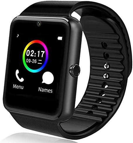 Amazon.com: Smartwatch GT08 Bluetooth Reloj inteligente con ...