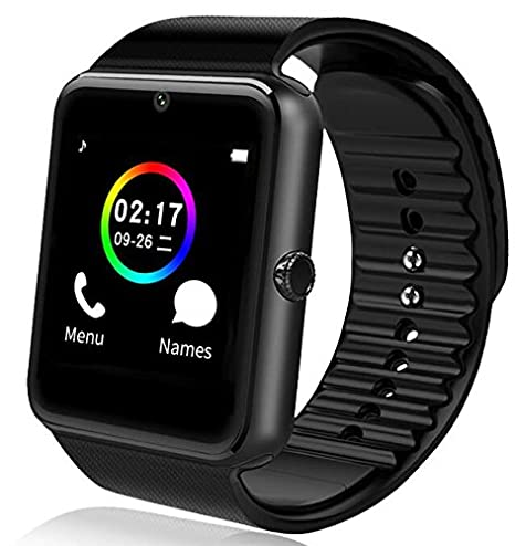 Amazon.com: Smartwatch GT08 Bluetooth Reloj inteligente con ...