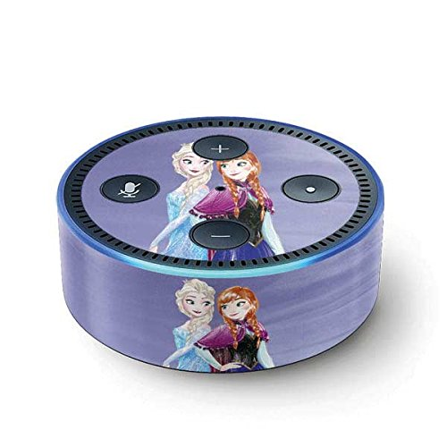 Frozen Echo Dot (2nd Gen, 2016) Skin - Elsa and Anna Sisters Vinyl Decal Skin For Your Echo Dot (2nd Gen, 2016)