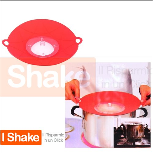 Snap 2 Strain Flexible Spill Stopper (Red) - 1