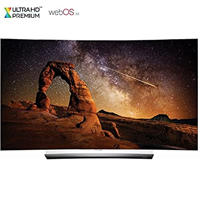 "LG OLED55C6P 55"" C6 Curved OLED HDR 4K 3D Smart TV w/ webOS 3.0 - (Certified Refurbished)"