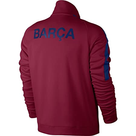 4ab54a5e3 Amazon.com   Nike 2017-2018 Barcelona Authentic Franchise Jacket (Red)    Sports   Outdoors