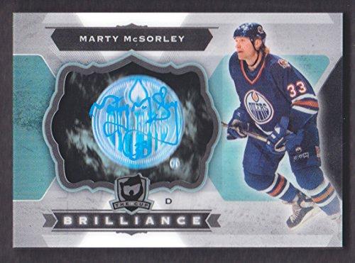 2014-15 The Cup Brilliance Autograph #B-MC Marty McSorley Auto Edmonton -