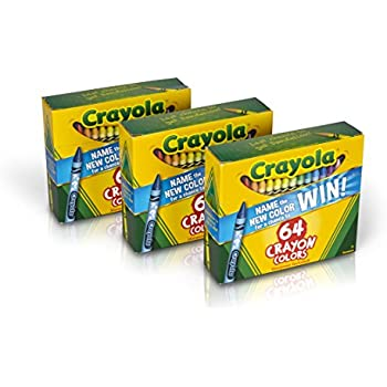 Crayola Crayons 64 Count (Set of 3), Bulk Crayons, Styles Vary