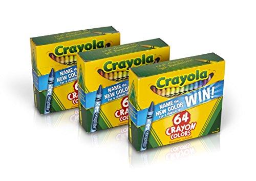 Crayola Crayons 64 Count (Set of 3),