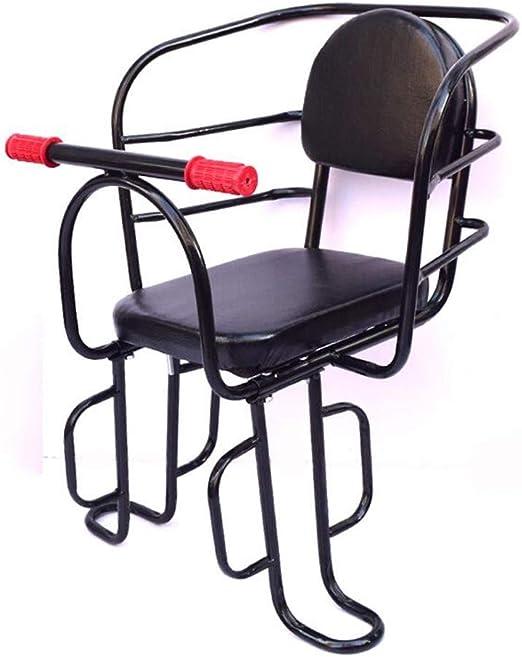 QLIGHA Asiento Trasero de Bicicleta para niños con Pedal y ...