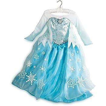 Disney Store Frozen Princess Elsa Costume Size Large 9 10