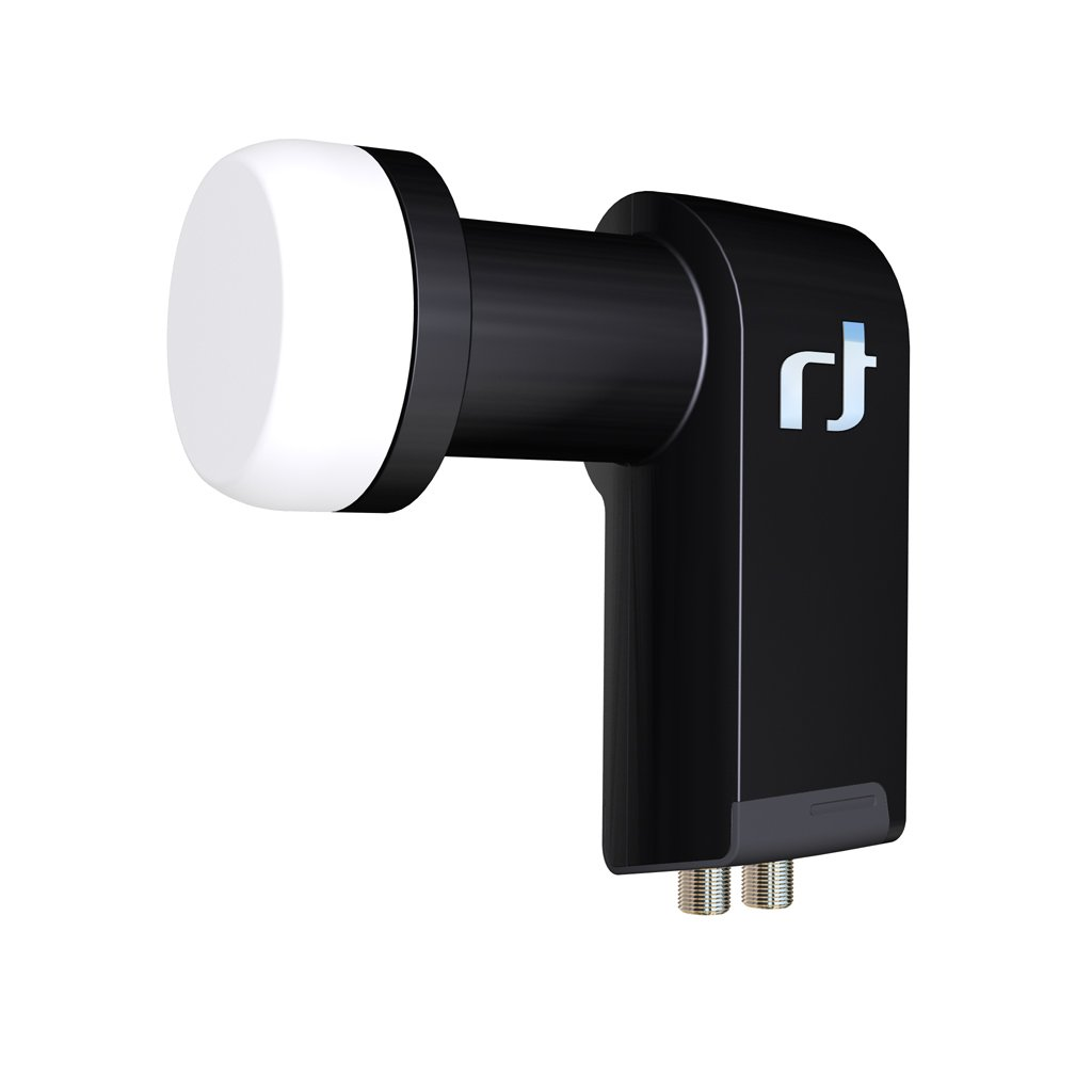 Inverto UltraTwin - Convertidor de señal satélite universal LNB, 40 mm, color negro product