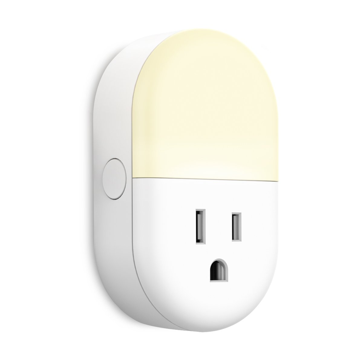 Smart Plug works with Alexa, iMah Smart Plug with Night Light, Smart Outlets that work with Alexa Google Assistant IFTTT, WiFi Smart Plug Mini Outlet Socket control your Devices from Anywhere