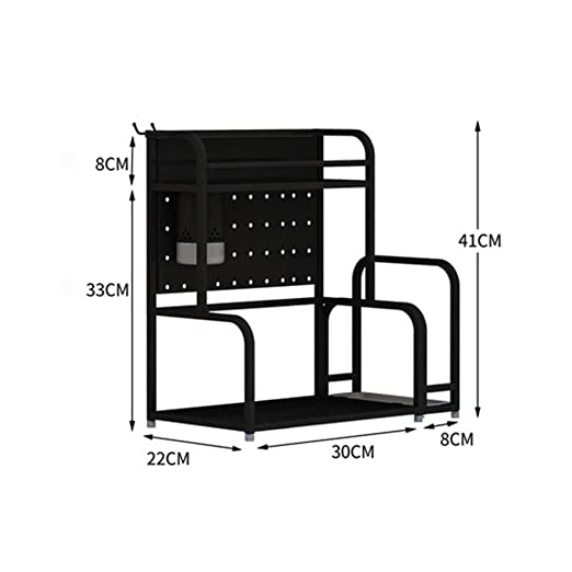 ALF Rack de almacenamiento de microondas Estante de cocina, piso ...