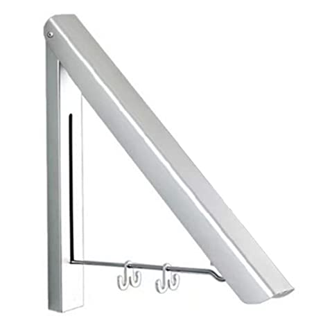CerisiaAnn - Perchero de Pared de Aluminio Plegable para ...