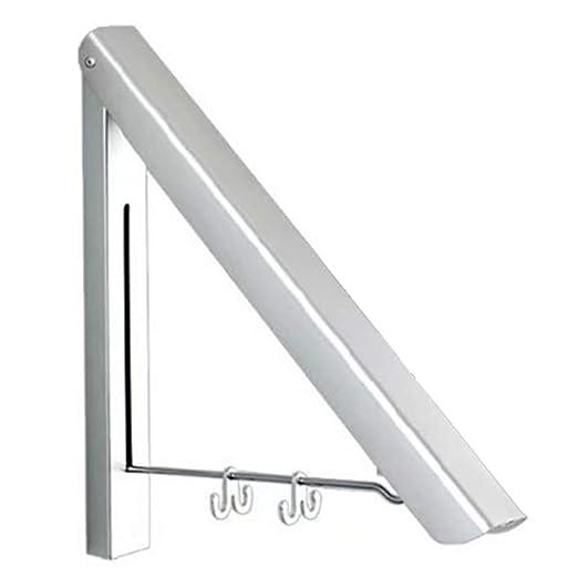 CerisiaAnn - Perchero de Pared de Aluminio Plegable para ...
