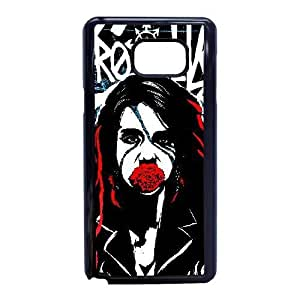 Custom for Samsung Galaxy Note 5 Cell Phone Case Black Kmfdm HKJGAFGLO4503