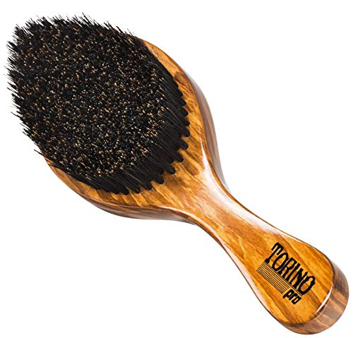 Torino Pro Wave Brush #630 By Brush King - Firm Medium Curve 360 Waves Brush