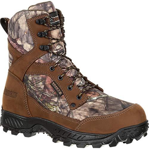 Rocky Men's 8'' Ridge Top 400g Insulated Waterproof Hiker Boots, Brown, 11.5 M