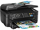 Home and Office Printer - Epson WorkForce WF-2660 All-In-One Wireless Color Printer with Scanner, Copier and Fax