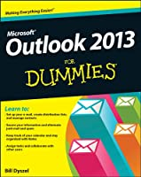 Outlook 2013 For Dummies Front Cover