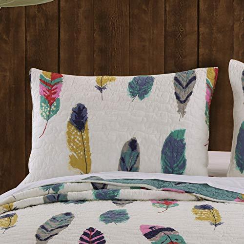 Greenland Home Dream Catcher Pillow Sham, Standard, Teal
