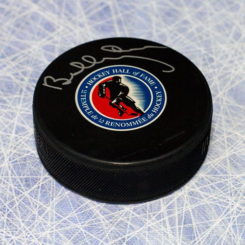 Bobby Orr Autographed Hockey Hall of Fame Logo Puck